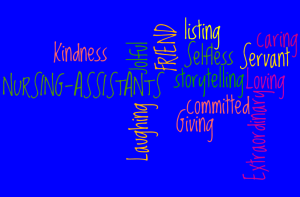 WordCloud_forNursingAssistantWeek