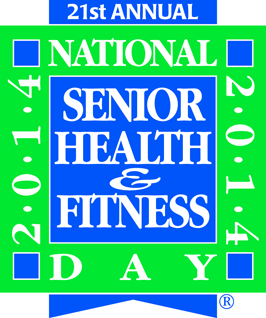 National Senior Health & Fitness Day logo