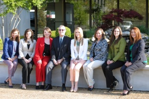The Arkansas Foundation for Medical Care's SIP Care Transitions Team (L to R): Jamey Mantz, Amy Witherow, Faye Nipps, Jerry Wicker, Dr. Christi Quarles Smith, Ashley Gibson, Dr. Kristy Bondurant, Tonyia Haynes