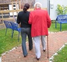 senior with cane_caregiver
