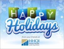 Happy Holidays - HHQI 2015